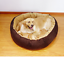 Self-Warming-Cat-Dog-Bed-Cushion-for-Medium-Large-Dogs-Round-Nest-Up-to-88lbs thumbnail 6