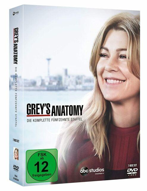 Greys Anatomy - Die komplette fünfzehnte Staffel (DVD)