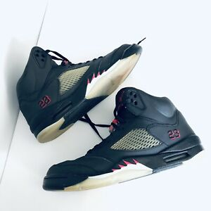 new styles 57bc1 bcf5a Details about Air Jordan Retro 5 Raging Bull 3M Men Size 11 Charcoal Black  Reflective Rare!