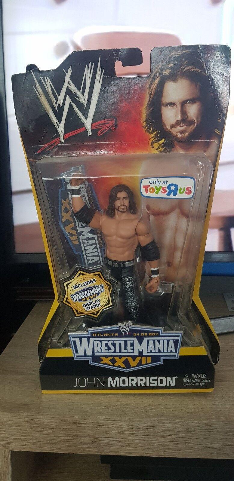WWE Basic Wrestlemania JOHN MORRISON