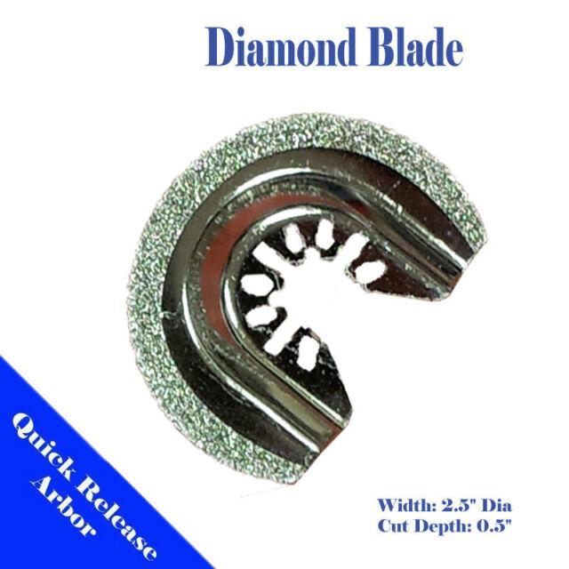Diamond Blade Oscillating Multi Tool For Black & Decker Bosch Dremel Milwaukee