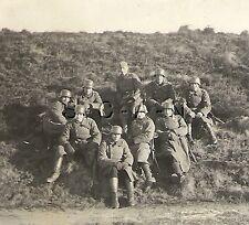WWII German Army RP- Soldier- Helmet- Overcoat- Gloves- Break Time- At the Range