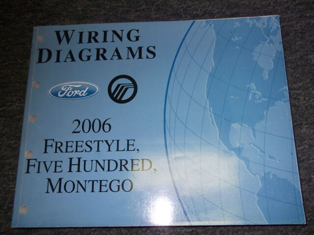 2006 Ford Freestyle 500 Montego Electrical Wiring Diagrams