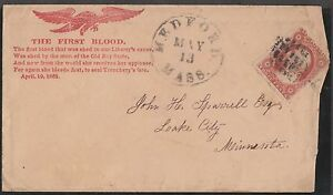 E-L-12-EAGLES-034-THE-FIRST-BLOOD-034-ON-BUFF-CVR-FRANKED-W-DULL-RED-26-FINE-BN8093