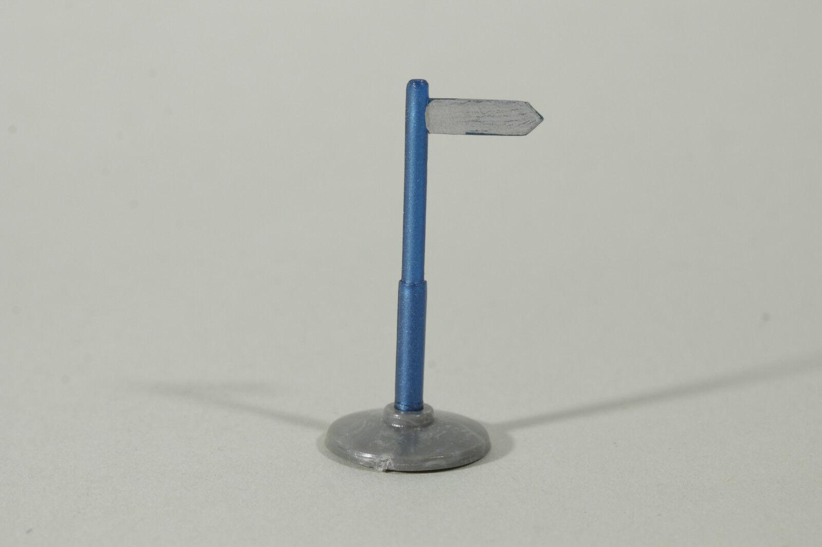 1261 Wiking Einarmiger Wegweiser , 1952 - 1955   metallic Blau