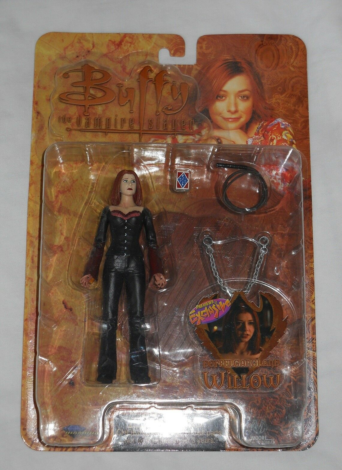 FIGURINE WILLOW - VAMPIRE    de la série  BUFFY