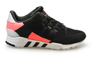 newest 06eb1 02972 Details about Mens Adidas EQT Support RF - BB1319 - Black Pink Trainers