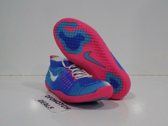 wholesale dealer bcb5e 7168d Women s Nike Hyperfeel Cross Elite Running Shoe Size 5 NEW 638348-400 BLUE  PINK