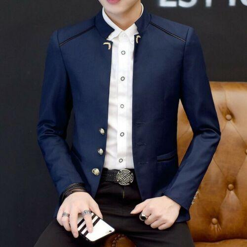 Mens Coats Single Breasted Korean Spring Leisure All-match Blazer Jacket Stylish