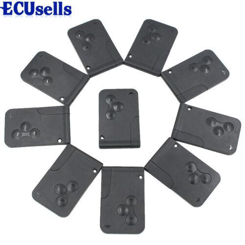 10PCS*Smart card key 3 button 434MHZ 7926ATT for Renault Megane Scenic 2003-2008