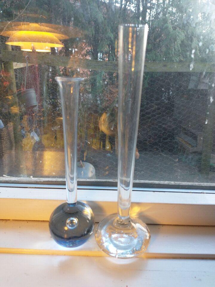 Glas, Vase, Holmegård