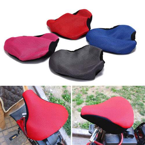 Bike Cycling 3D Soft Saddle Seat Cover Seating Cushion Bike Accessories