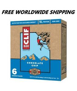 Clif-BAR-Chocolat-Puce-Energie-Granola-Barres-6-CT-Livraison-Monde-Entier