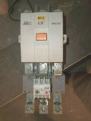 -9 GMC- D META LS MEC CONTACTOR 220V COIL GMC