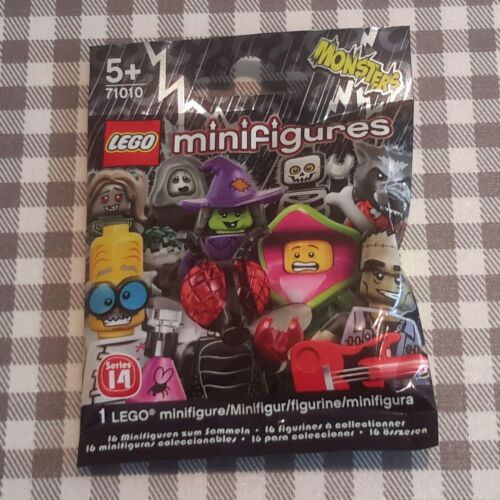 Lego square foot//big foot series 14 unopened new factory sealed