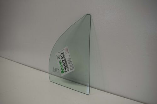 Rear Right Passenger Side Vent Window Glass for 2006-2011 Kia Rio 4-Door Sedan
