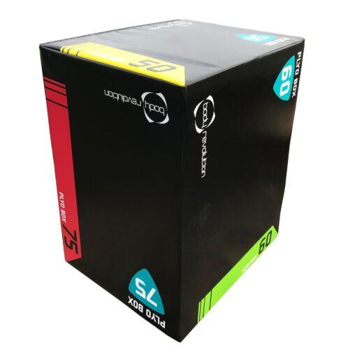 Soft plyometric Squat JUMP BOX 3 in 1 altezze PLYO crossfit palestra allenamento passo-passo