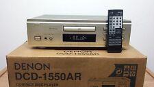 Denon DCD-1550AR Gold High-End CD-Player *2 x PCM61P Burr Brown DAC*