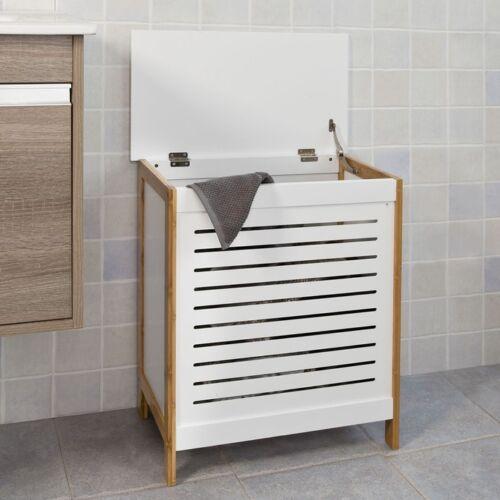 FSS66-WN SoBuy® Wäschetruhe,Wäschekorb,Wäschebox,Wäschesammler,Wäschetonne
