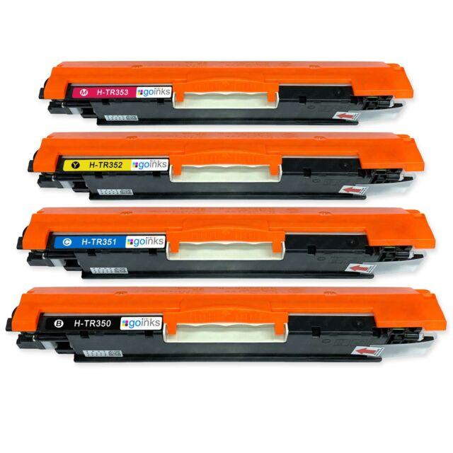 4 Cartuchos de tóner (Conjunto) para HP Colour LaserJet Pro MFP M176n