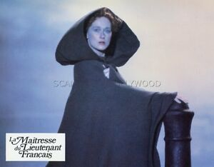MERYL STREEP  THE FRENCH LIEUTENANT'S WOMAN 1981 LOBBY CARD #6