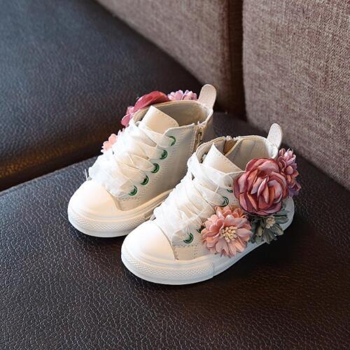 FASHION Bambini Scarpe Super Carino ragazze principessa Casual Scarpe da ginnastica 1-3 anni