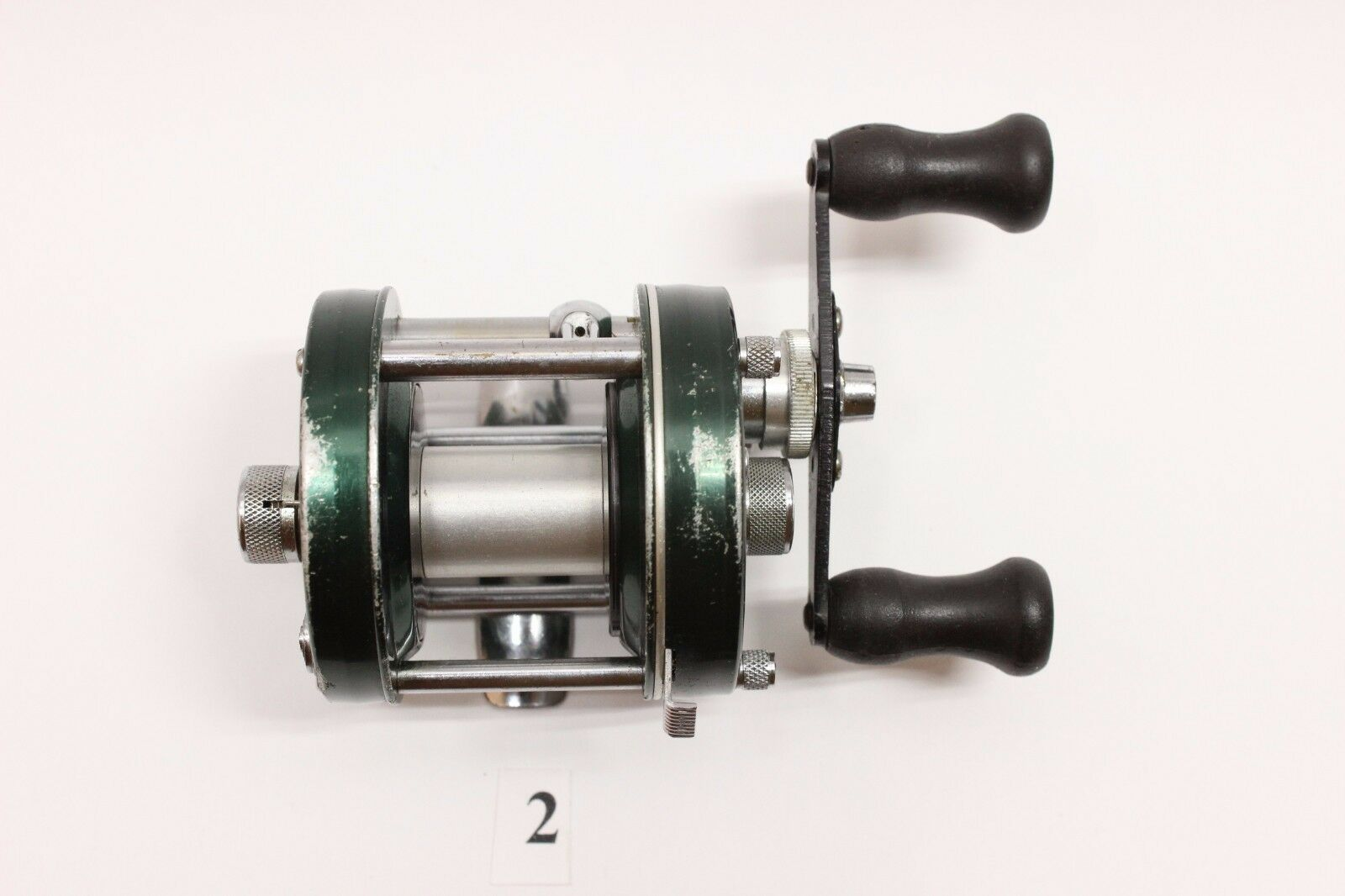 Abu Ambassadeur 5000D Sweden Green  Fishing Reel Tang Number 740100 Vintage  with 100% quality and %100 service