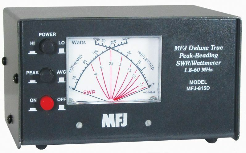 MFJ-815D HF + 6M Peak Reading SWR/Wattmeter. Buy it now for 112.95