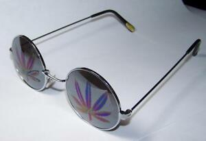 MARIJUANA-JL-STYLE-MIRROR-REFLECTION-POT-LEAF-SUNGLASSES-round-frame-eyeglasses