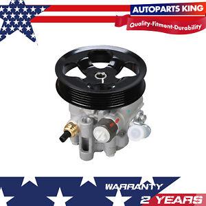 Power-Steering-Pump-w-Pulley-for-Pontiac-Vibe-Toyota-Corolla-Matrix-03-08-DOHC