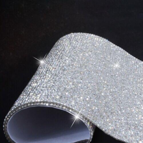 Crystals Rhinestones Car Decor Decal Accessories Diamond Self Adhesive Sticker