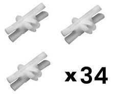 20 Pcs Body Side Moulding Trim Clip Retainer For Sealer VW Beetle 113853585C BPY