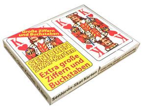 2x-32-Blatt-Senioren-Skat-Spielkarten-Skatkarten-Skatspiel-Kartenspiel