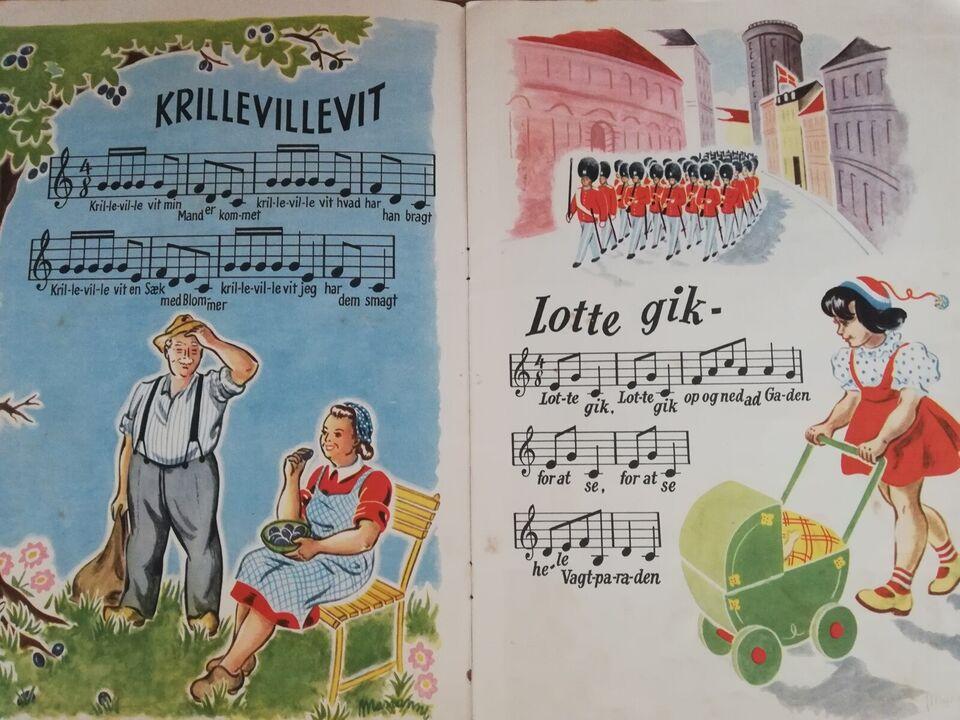 Klavernoder, Børnesange fra en svunden tid