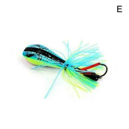 Jumping Frog Lure Topwater Lure 90mm 10g Double Strong New Jump Hook Action X8M2