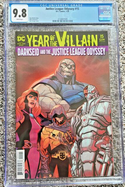 Justice League Odyssey #15 Acetate Cover CGC 9.8 DC Comics 2020