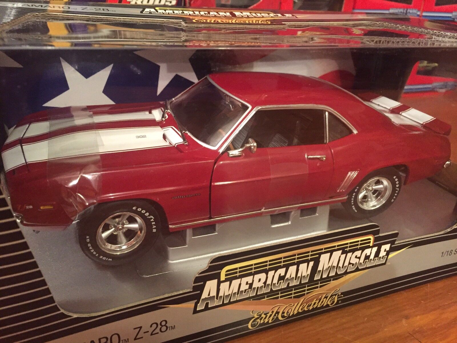 Ertl 1 18 1969 Chevy Camaro RS Z28 1 Of 2500 Item 39251