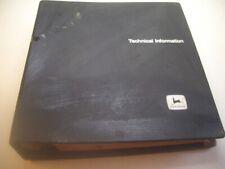 John Deere 740 Skidder Tech Manual Tm1059 Dec 79 H5