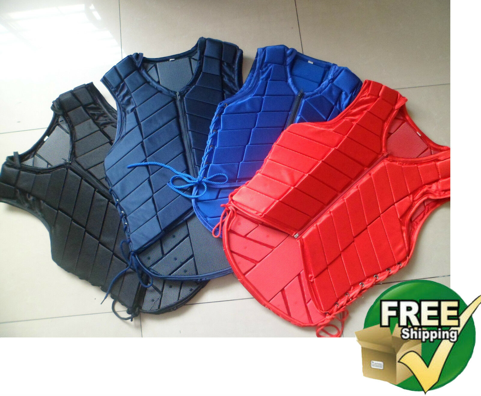 Horse Riding Safety Equestrian eventer Protective Protection Vest youth rot