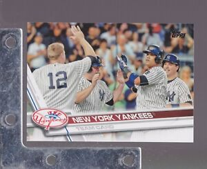 2017-Topps-Baseball-Team-Sets-SERIES-1-amp-2-PICK-FROM-LIST-Low-S-amp-H
