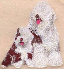 Embroidered Fleece Jacket - Old English Sheepdog I1046 Sizes S - Xxl