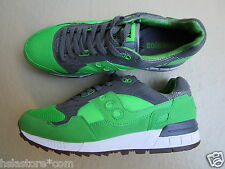 """Solebox X Saucony Shadow 5000 45 """"Three Brothers Pack"""" Part 2 Green/Grey/White"""