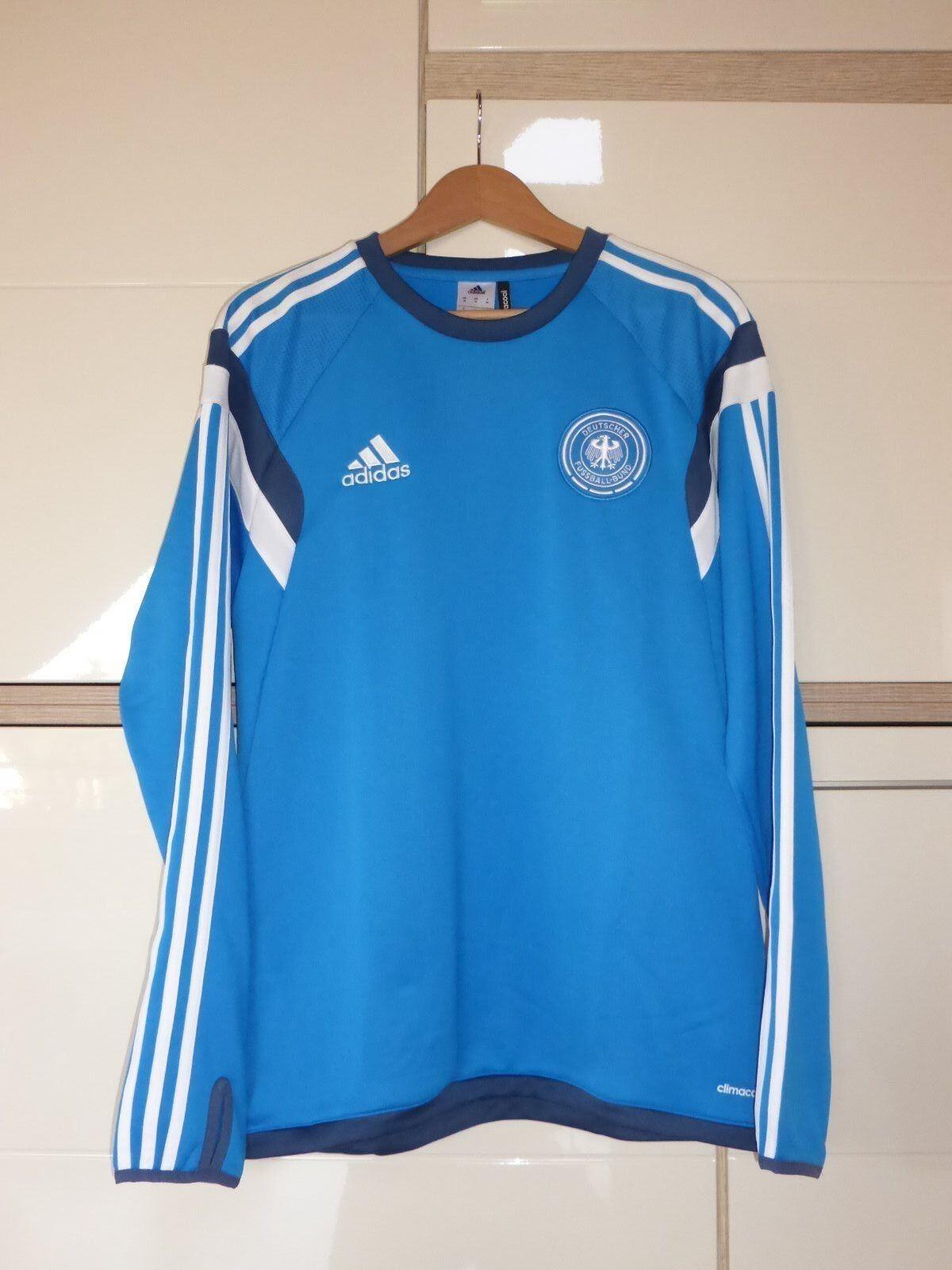 Adidas DFB Deutschland Training Shirt blau 2014 2014 2014 Germany Größe XS - Mercedes Benz 93fea5