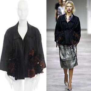 runway-DRIES-VAN-NOTEN-SS13-black-ruffle-floral-pailette-embellished-jacket-S