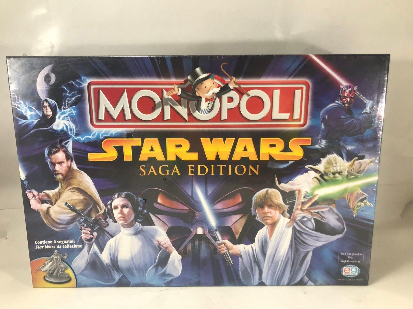 Monopoly Saga Edition Game companies EG Sealed Hotel Thrill Fire Island