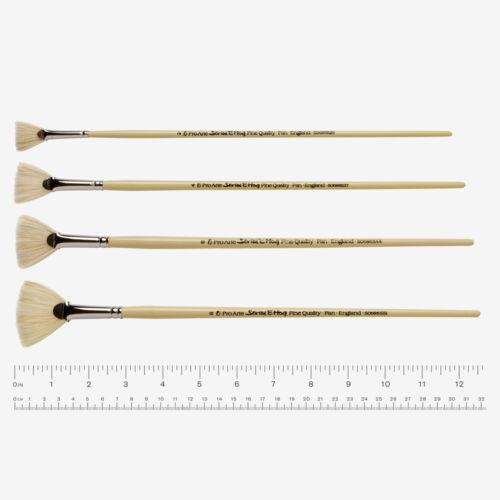 Pro Arte Hog Brush Series E Fan Size 4