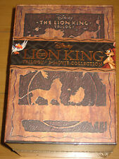 The LION KING Trilogy (Blu-ray/DVD, 2011, 8-Disc Set, Diamond Edition 3D) NEW