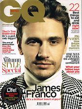 GQ UK 11/2013 JAMES FRANCO Kim Jones TOM HIDDLESTON George Harrison @NEW@