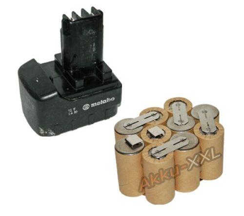Batterie pour Metabo BST 12 BS 12 impulsion 12v 2.0ah NEUF