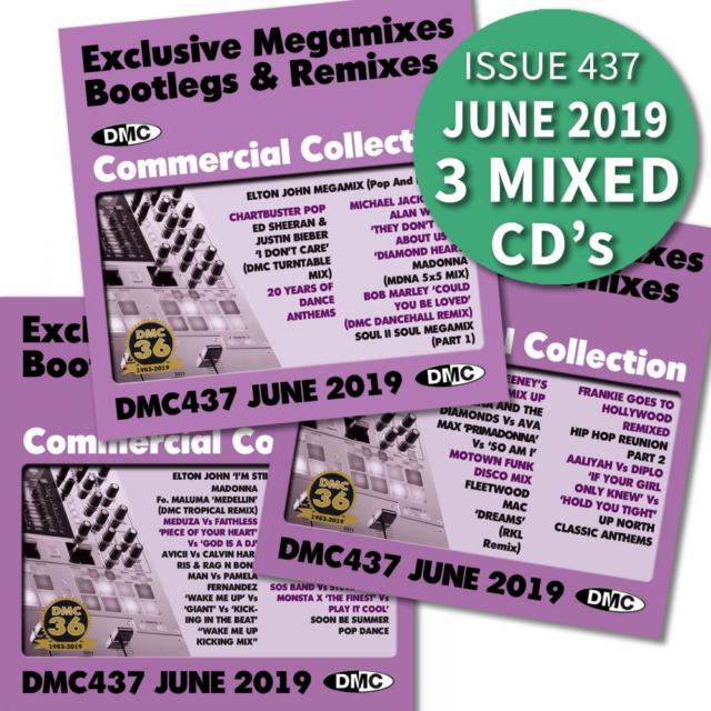 DMC Commercial Collection 429 Club Hits Bootleg Remix & Megamix DJ Music CD  Cher